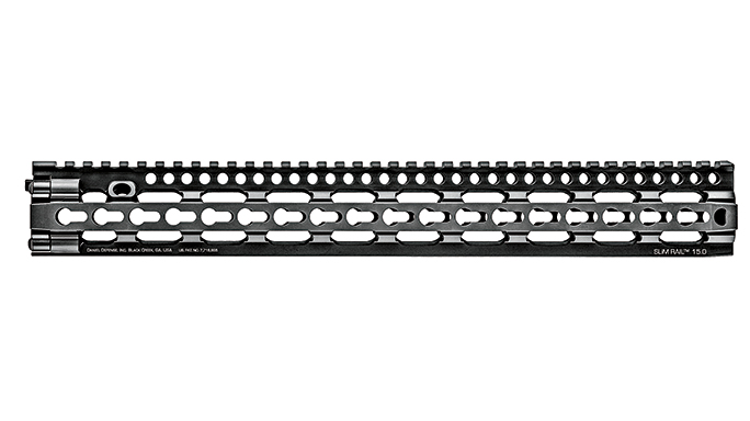 Black Guns 2016 rails grips Daniel Defense SLiM Rail