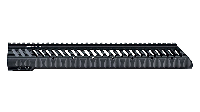 Black Guns 2016 rails grips Diamondhead VRS T-308L Free-Floating Handguard