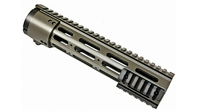Black Guns 2016 rails grips Guntec Thin Profile Handguard