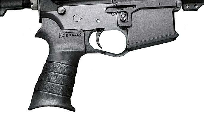 Black Guns 2016 rails grips Stark BRU Pistol Grip