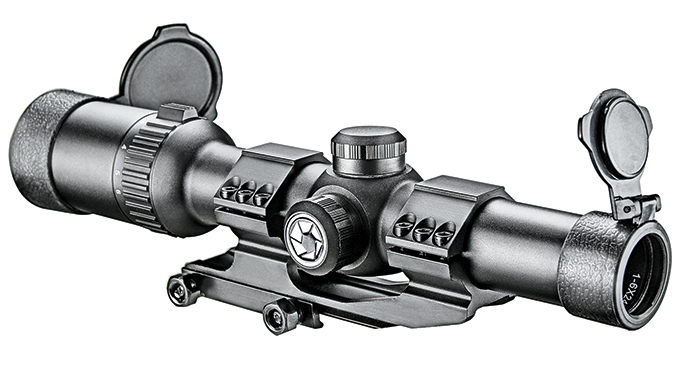 Black Guns 2016 Barska AR6 1-6x24mm