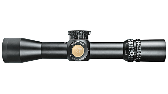 Black Guns 2016 Nightforce Optics 4-16x42mm F1 ATACR