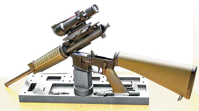 Black Guns 2016 Present Arms Gunner's Mount