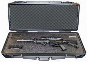 Black Guns 2016 Quick Fire QF600 AR-15 Rifle Case