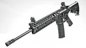 Smith & Wesson M&P15T Rifle Black Guns 2016 angle