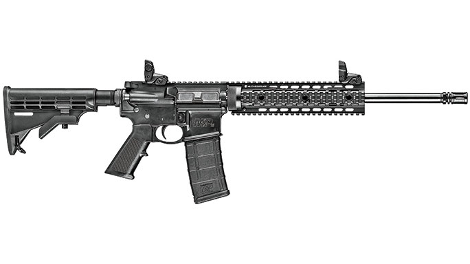 Smith & Wesson M&P15T Rifle Black Guns 2016 lead