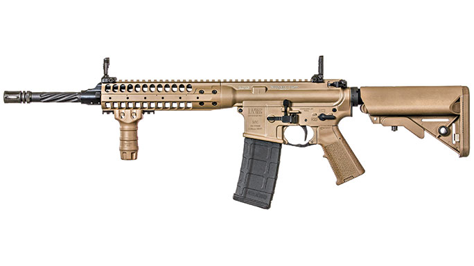 LWRC International TRICON MK6 Rifle Black Guns 2016 solo