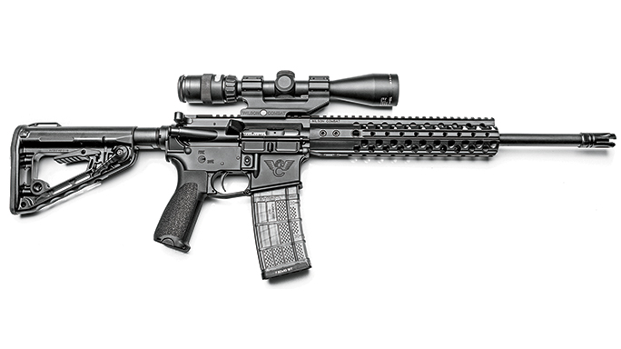 WILSON COMBAT RECON TACTICAL black guns 2016