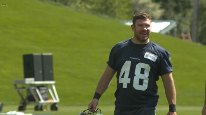 Former Green Beret Nate Boyer Seattle Seahawks