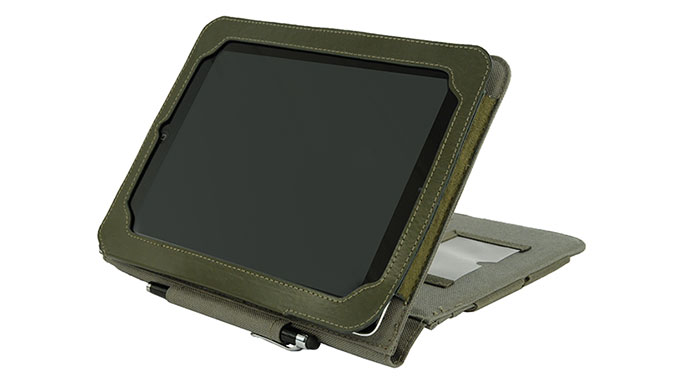 Flying Circle Bags Tactical iPad Air Cover angle