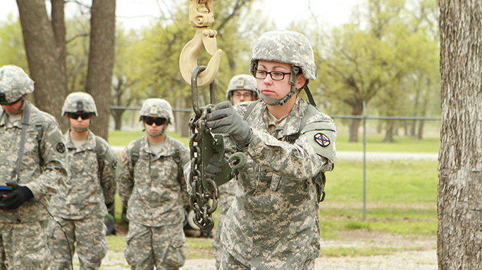 Army Women Cannon Military Occupational Specialties