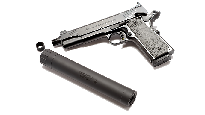 Gun Annual 2016 sound suppressors AAC Ti-RANT 45M