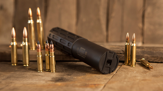 "Gun Annual 2016 sound suppressors Gemtech ""The One"""