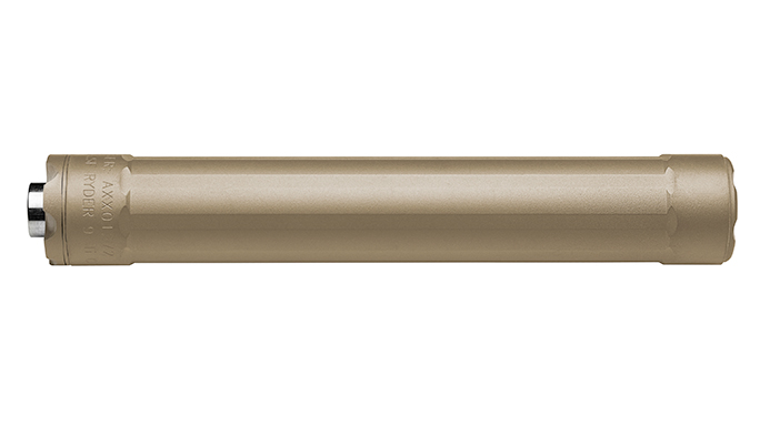 Gun Annual 2016 sound suppressors SureFire Ryder 9-Ti