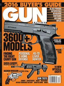Gun Annual 2016 cover