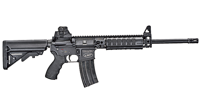 Black Guns 2016 LEWIS MACHINE & TOOL CQB MRP DEFENDER