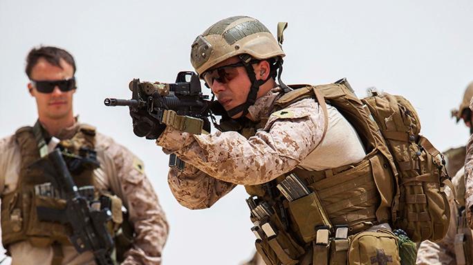 Marines Infantrymen M16 M4 Switch