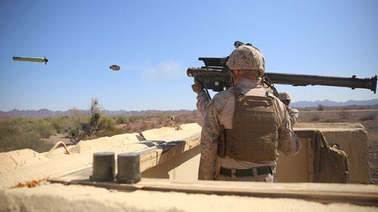 LAAD Maines FIM-92 Stinger Missile