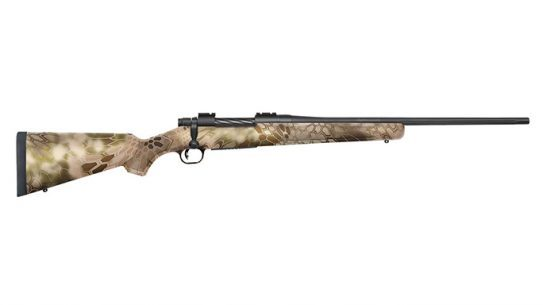 Mossberg Kryptek Highlander Camo Stocks Patriot Bolt-Action Rifles