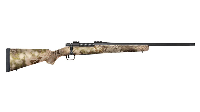 Mossberg Kryptek Highlander Camo Stocks Patriot Bolt-Action Rifles