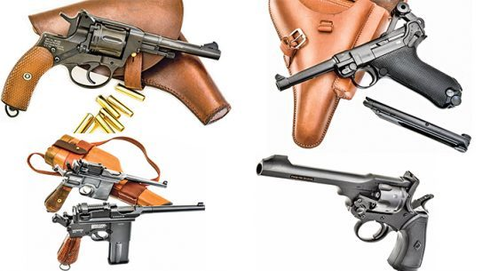 World War MilitAIRia: 7 Military Sidearm Air Gun Replicas