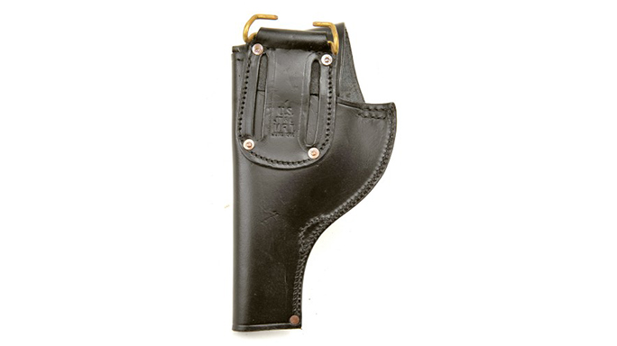 World War Supply Smith & Wesson Victory Model Revolver Holster back