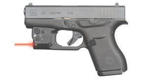 Viridian Reactor 5 Red laser sight for Glock 43 featuring ECR