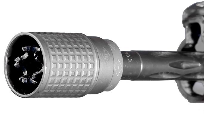 Yankee Hill Machine QD Blast Deflector attachment