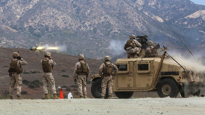 13th MEU Combined Anti-Armor Teams Pendleton