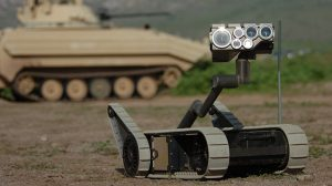 U.S. Army Robots Battlefield Casualties