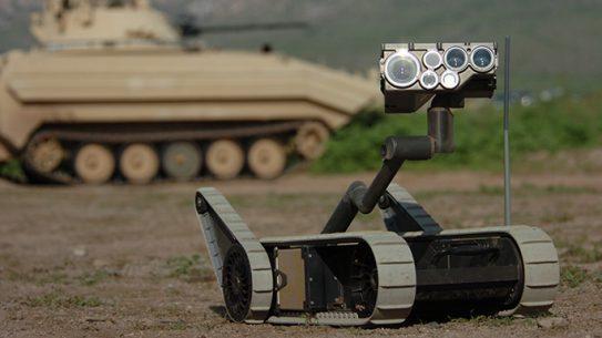 U.S. Army Robots Battlefield Casualties