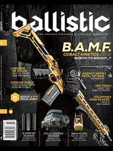 Ballistic Winter 2016 cover