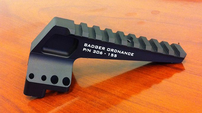 Badger Ordnance RAPTAR Mount