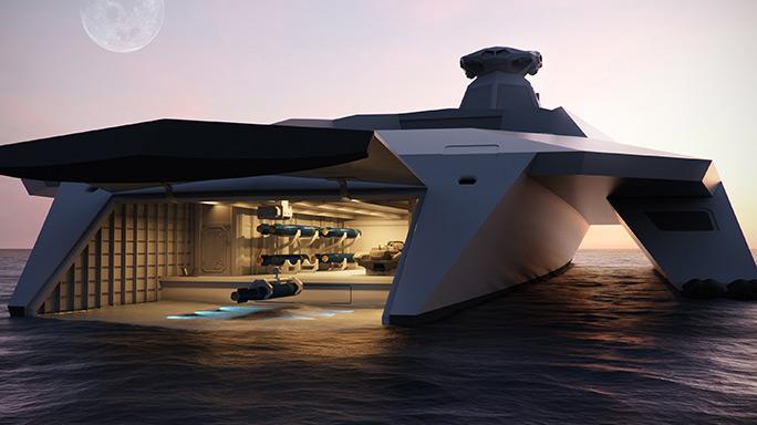 Dreadnought 2050 garage