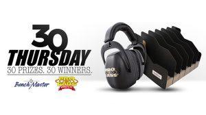 Thirty Thursday: Springfield Giving Away 30 Pro Ears Ear Muffs & Six-Pistol Racks