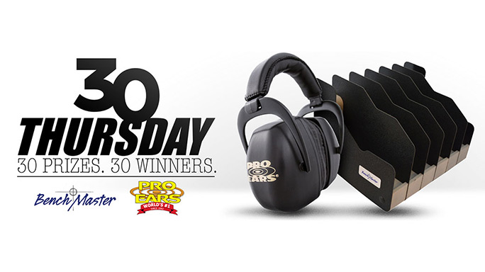 Thirty Thursday: Springfield Giving Away 30 Pro Ears Ear Muffs & Six-Pistol Racks