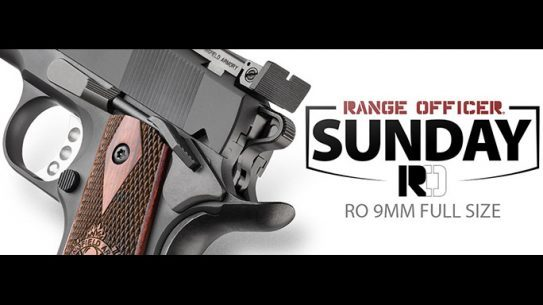 Range Officer Sunday: Springfield Giving Away 1911 Range Officer 9mm