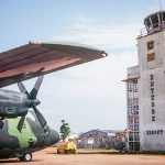 The old Entebbe Airport terminal still has the bullet holes from the 1976 rescue mission.