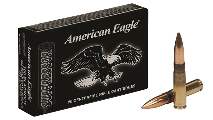 Federal Premium American Eagle Suppressor Ammunition