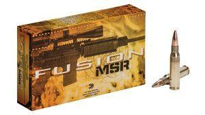 Federal Premium Fusion MSR ammunition