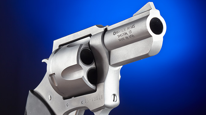 Charter Arms Pitbull .45 Revolver barrel