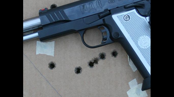 Metro Arms 3011 SSD target