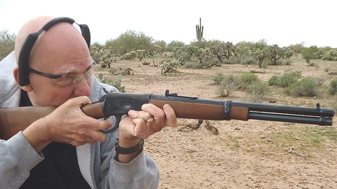 Rossi R92 .45 Colt Rifle author