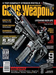 Guns & Weapons for Law Enforcement October/November 2015 Cover