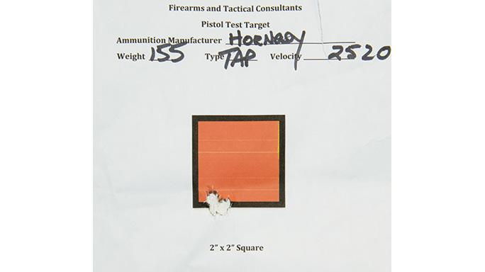 Diamondback DB10EFDE Rifle GWLE 2015 target
