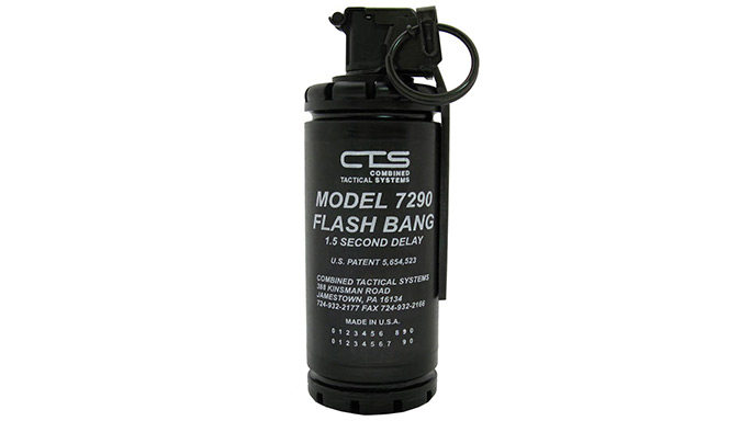 Riot Stoppers Less-Lethal GWLE 2015 CTS 7290 Flashbang