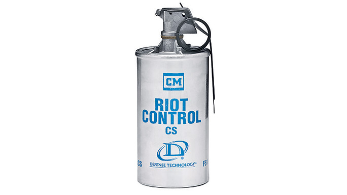 Riot Stoppers Less-Lethal GWLE 2015 Defense Technology Riot Control CS Grenade