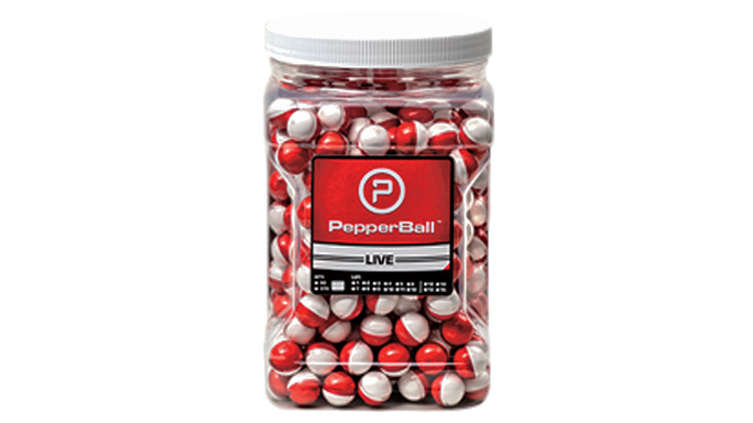 Riot Stoppers Less-Lethal GWLE 2015 PepperBall LIVE and LIVE-X Projectiles