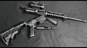 Stag Arms Model 9 GWLE 2016 apart