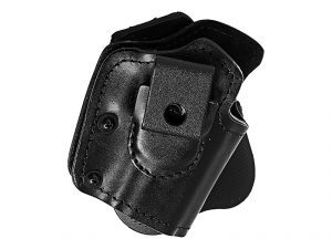 The Front Line Quad Holster is perfect for protecting your firearm.